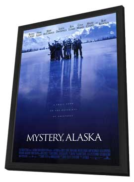 Mystery, Alaska - 11 x 17 Movie Poster - Style A - in Deluxe Wood Frame