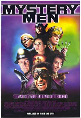 Mystery Men - 27 x 40 Movie Poster - Style A