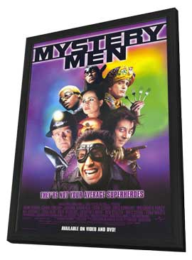 Mystery Men - 11 x 17 Movie Poster - Style A - in Deluxe Wood Frame