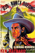 Mystery Mountain - 11 x 17 Movie Poster - Spanish Style A