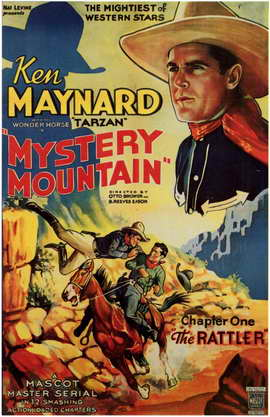 Mystery Mountain - 11 x 17 Movie Poster - Style C