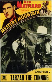 Mystery Mountain - 27 x 40 Movie Poster - Style B
