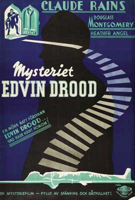 Mystery of Edwin Drood - 27 x 40 Movie Poster - Swedish Style A
