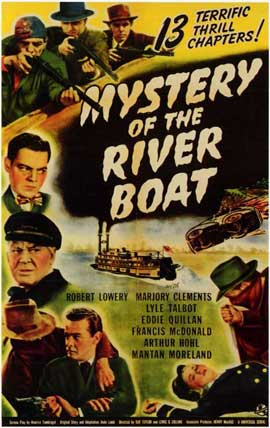 Mystery of the River Boat - 11 x 17 Movie Poster - Style A