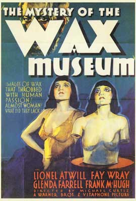 Mystery of the Wax Museum - 27 x 40 Movie Poster - Style A