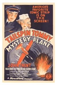 Mystery Plane - 11 x 17 Movie Poster - Style A