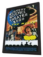 Mystery Science Theater 3000 - 11 x 17 Movie Poster - Style A - in Deluxe Wood Frame