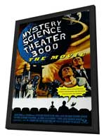 Mystery Science Theater 3000 - 27 x 40 Movie Poster - Style A - in Deluxe Wood Frame