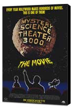 Mystery Science Theater 3000 - 11 x 17 Movie Poster - Style B - Museum Wrapped Canvas