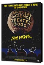 Mystery Science Theater 3000 - 27 x 40 Movie Poster - Style B - Museum Wrapped Canvas