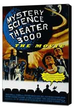 Mystery Science Theater 3000 - 27 x 40 Movie Poster - Style A - Museum Wrapped Canvas