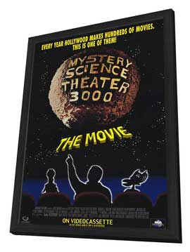 Mystery Science Theater 3000 - 11 x 17 Movie Poster - Style B - in Deluxe Wood Frame