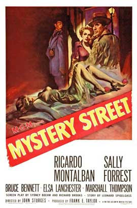 Mystery Street - 27 x 40 Movie Poster - Style A