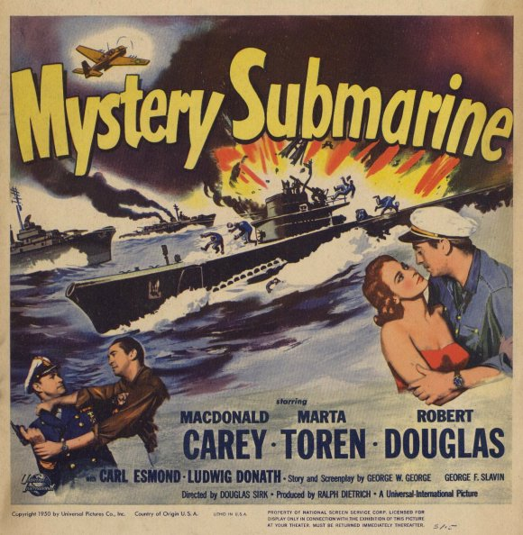 Mystery Submarine 1950 Review