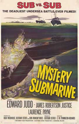 Mystery Submarine - 11 x 17 Movie Poster - Style A