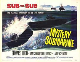 Mystery Submarine - 11 x 14 Movie Poster - Style A