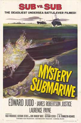 Mystery Submarine - 27 x 40 Movie Poster - Style A