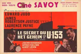 Mystery Submarine - 11 x 17 Movie Poster - Belgian Style A