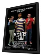 Mystery Team - 27 x 40 Movie Poster - Style A - in Deluxe Wood Frame