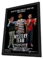 Mystery Team - 11 x 17 Movie Poster - Style A - in Deluxe Wood Frame