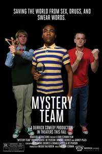 Mystery Team - 43 x 62 Movie Poster - Bus Shelter Style A