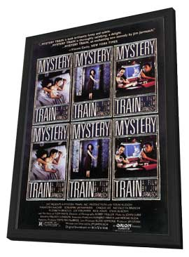 Mystery Train - 11 x 17 Movie Poster - Style A - in Deluxe Wood Frame