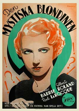 Mystery Woman - 11 x 17 Movie Poster - Swedish Style A