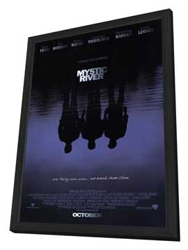 Mystic River - 27 x 40 Movie Poster - Style A - in Deluxe Wood Frame