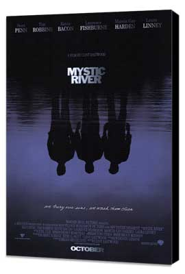 Mystic River - 27 x 40 Movie Poster - Style A - Museum Wrapped Canvas