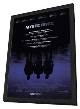Mystic River - 11 x 17 Movie Poster - Style B - in Deluxe Wood Frame