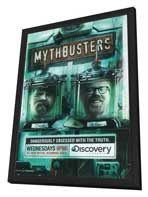 MythBusters - 27 x 40 Movie Poster - Style B - in Deluxe Wood Frame