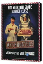 MythBusters - 11 x 17 TV Poster - Style A - Museum Wrapped Canvas