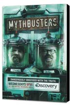 MythBusters - 27 x 40 Movie Poster - Style B - Museum Wrapped Canvas
