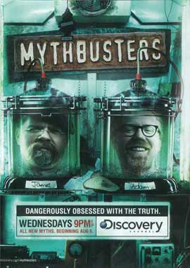 MythBusters - 11 x 17 TV Poster - Style C