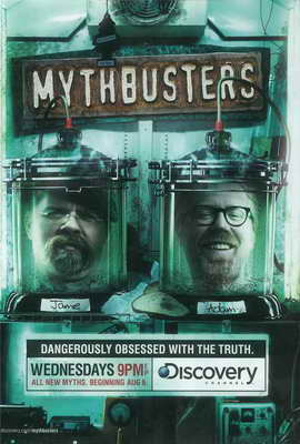 MythBusters - 27 x 40 Movie Poster - Style B