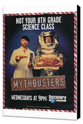 MythBusters - 27 x 40 TV Poster - Style A - Museum Wrapped Canvas
