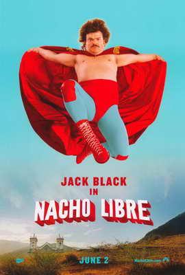 Nacho Libre - 11 x 17 Movie Poster - Style B