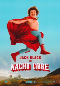 Nacho Libre - 43 x 62 Movie Poster - Bus Shelter Style A
