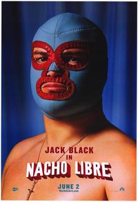 Nacho Libre - 43 x 62 Movie Poster - Bus Shelter Style D