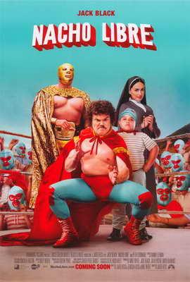 Nacho Libre - 27 x 40 Movie Poster - Style B