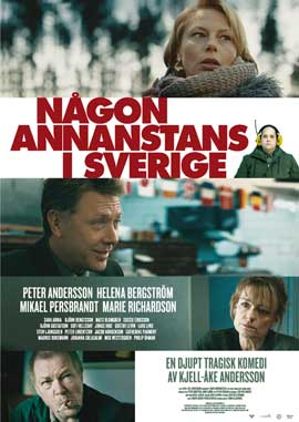 Nagon annanstans i Sverige - 27 x 40 Movie Poster - Swedish Style A