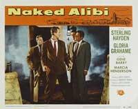 Naked Alibi - 11 x 14 Movie Poster - Style E