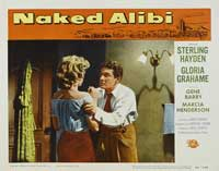 Naked Alibi - 11 x 14 Movie Poster - Style F