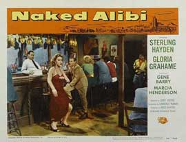 Naked Alibi - 11 x 14 Movie Poster - Style H