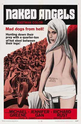 The Naked Angels - 27 x 40 Movie Poster - Style A