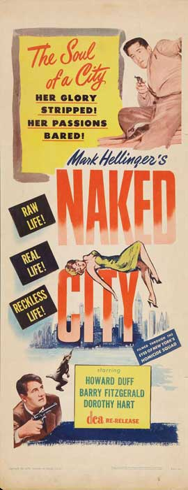 The Naked City - 14 x 36 Movie Poster - Insert Style A