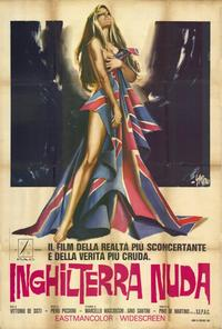 Naked England - 27 x 40 Movie Poster - Italian Style A
