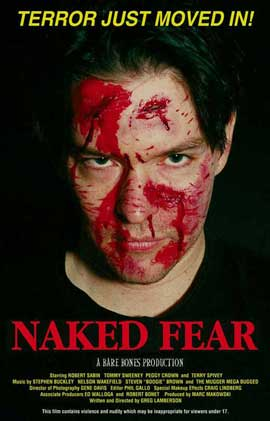 Naked Fear - 11 x 17 Movie Poster - Style A