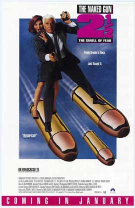 Naked Gun 2 1/2: The Smell of Fear - 11 x 17 Movie Poster - Style B