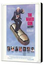 The Naked Gun: From the Files of Police Squad - 11 x 17 Movie Poster - Style A - Museum Wrapped Canvas